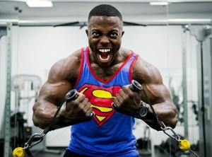 Biorhythmus-Muskelaufbau